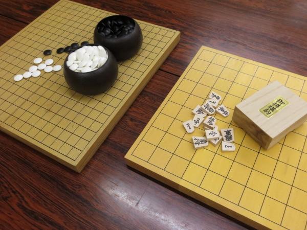 囲碁・将棋セット貸出し